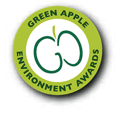 The Green Apple Environment Awards logo roundel